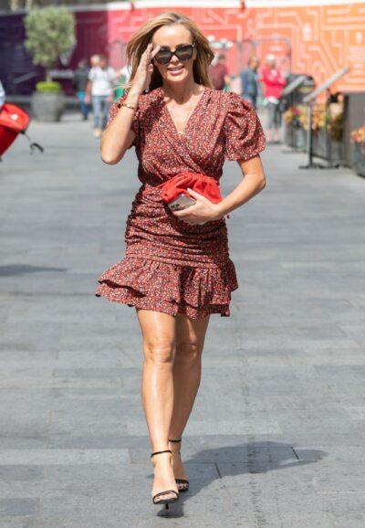 Amanda Holden stuns Instagram fans in mini dress