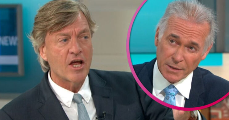 Richard Madeley on GMB with Dr Hilary