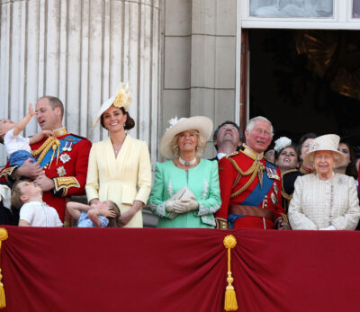 Prince Philip birthday: Queen supported by family