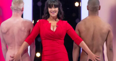 Anna Richardson on Naked Attraction on Channel 4