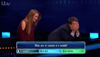 Tammy on The Chase had a tough time answering question right in the cashbuilder