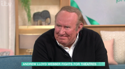 Andrew Neil on This Morning welled up as he thanked Phil and Holly for being 'so kind'