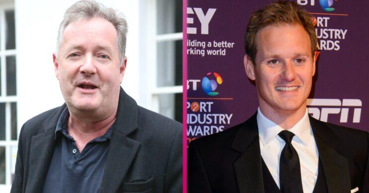 Piers Morgan and Dan Walker bury the hatchet on the golf course
