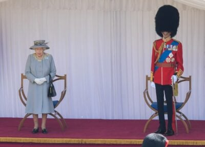 The Queen Trooping the Colour