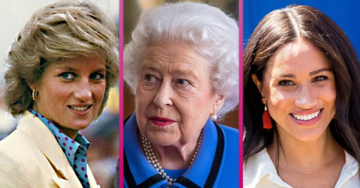 Princess Diana and Queen