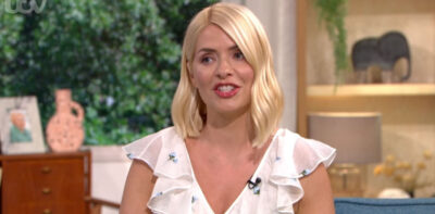 Holly Willoughby dress today