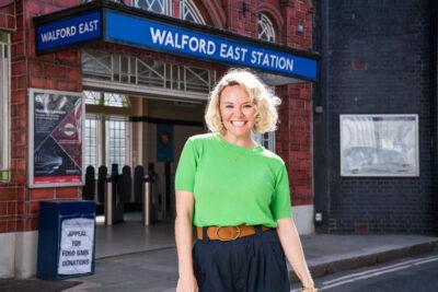 Lie with Me Janine Butcher EastEnders return confirmed: New pics of star Charlie Brooks on Walford set