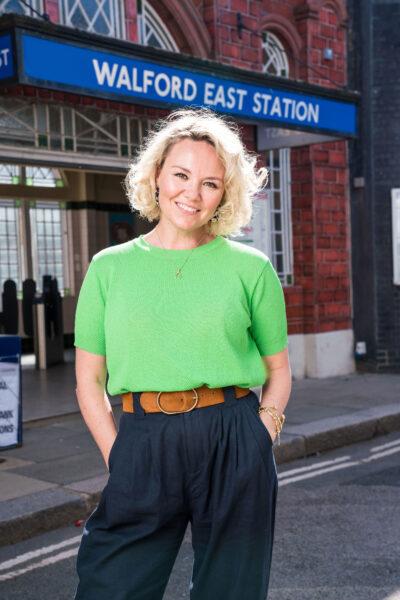 Janine Butcher EastEnders return confirmed: New pics of star Charlie Brooks on Walford set