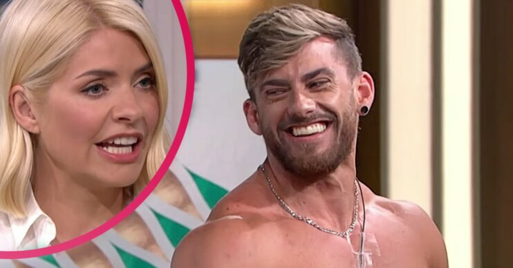 ITV This Morning today saw a Dreamboy strip off live on-air