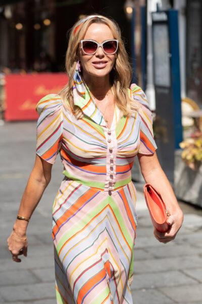 Amanda Holden Instagram showed of a super-summery dress to followers