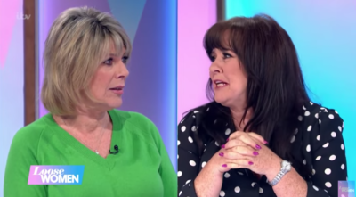 Ruth Langsford Loose Women was mortified when she found out she was in the top 10 unlikely celebrity crushes