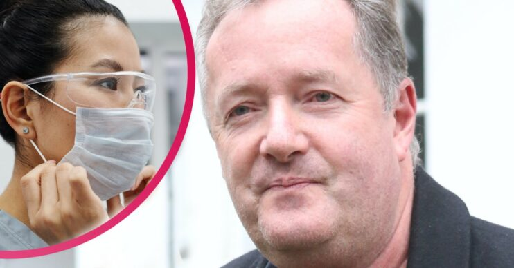 Piers Morgan news: Star says NHS staff should be sacked if they don't get Covid jab