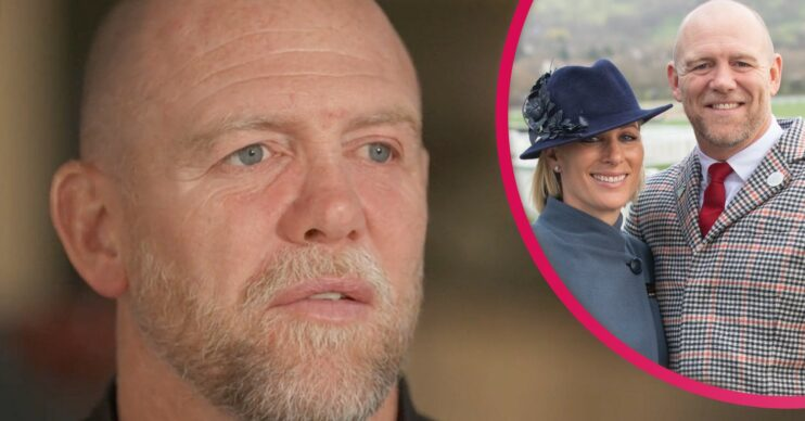 Mike Tindall dad