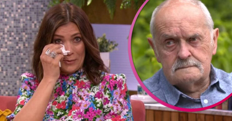 Kym Marsh and her dad