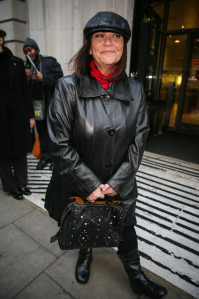 Dawn French new hairstyle