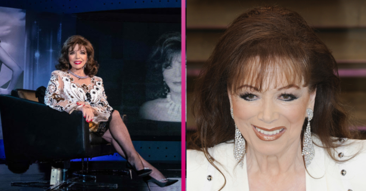 Joan Collins and sister Jackie Collins