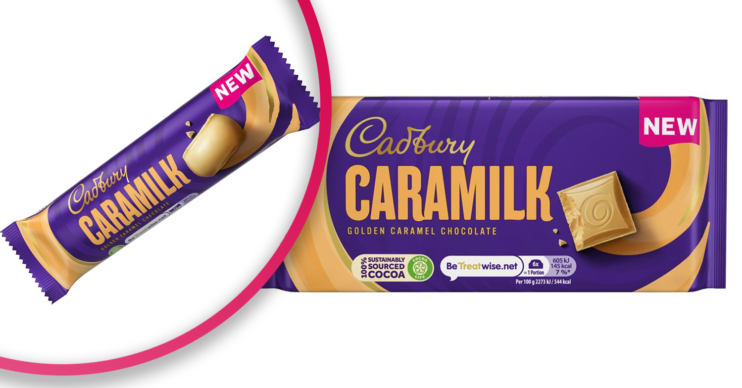 cadbury caramilk to be launched in uk