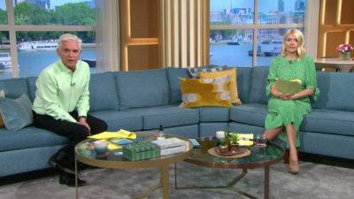 holly Willoughby outfit today: Star wows in bargain green dress