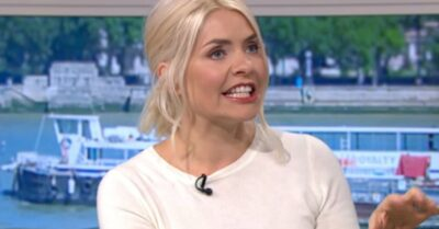 Holly Willoughby outfit this morning