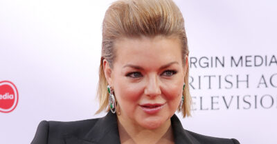 Sheridan Smith posing on the red carpet
