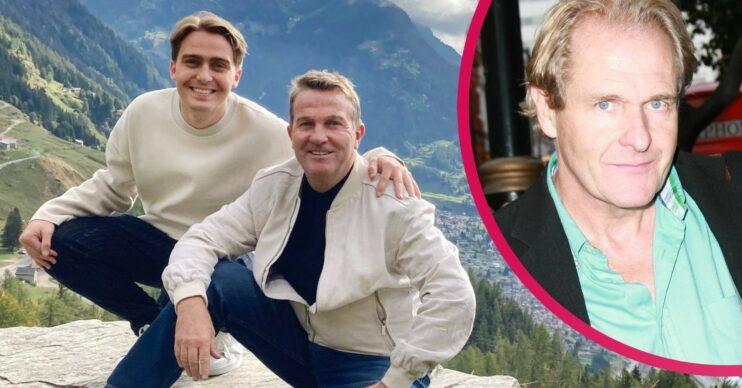 The Larkins on ITV1 cast with Bradley Walsh, son Barney and Robert Bathurst