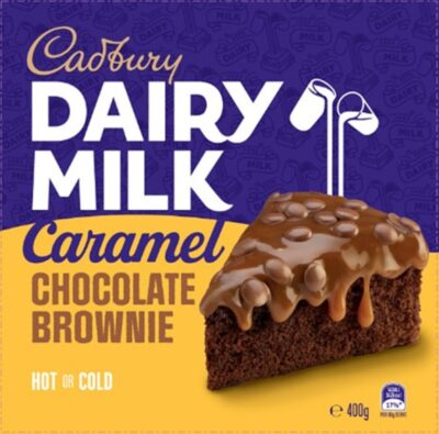 New Cadbury chocolate cakes