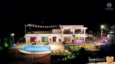 Love island villa sweden