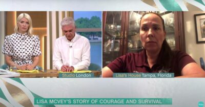 This Morning: Victim Lisa McVey horrifies Holly Willoughby as she recalls her terrifying abduction