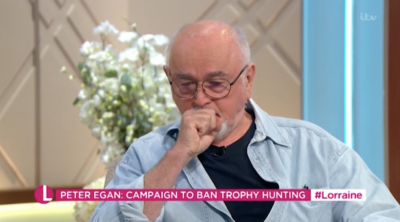 Peter Egan wife: Actor breaks down in tears on Lorraine