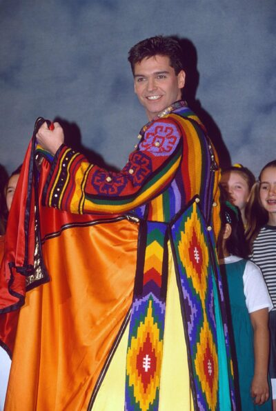 Holly Willoughby outfit today: it matches Phil's dreamcoat