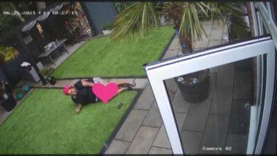 Alison Hammond fall