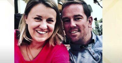 Simon Thomas wedding: Widowed TV presenter marries Derrina Jebb, three years after late wife Gemma's death
