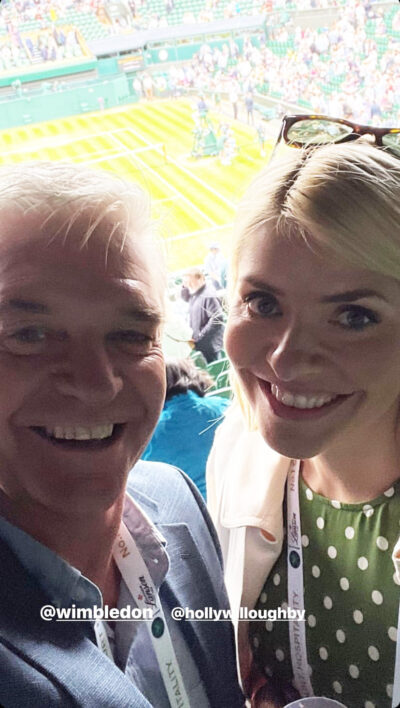 Holly Willoughby Wimbledon