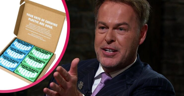Dragons' Den chewing gum Nuud