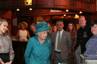 The Queen in Manchester