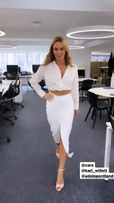 Amanda Holden Instagram