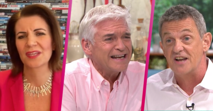 This Morning: Phillip Schofield argues with guests