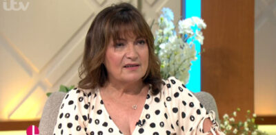 Lorraine Kelly Christine Lampard