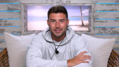 love island 2021: Liam in a hoody