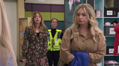 Laura is arrested in Coronation Street