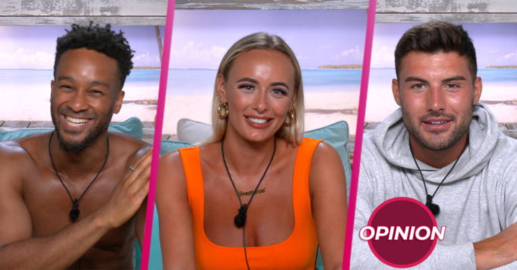 Love Island 2021: Three contestants in the diary room