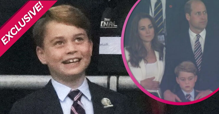 Prince George at Wembley