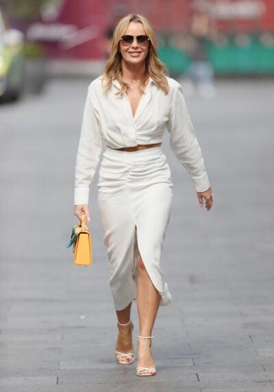 Amanda Holden Instagram: DJ walking in Leicester Square