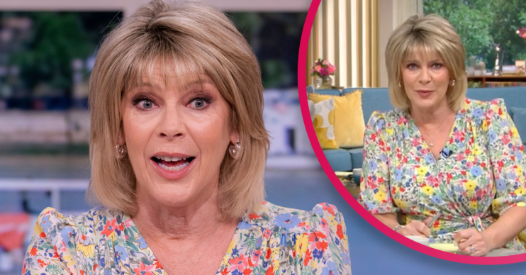 Ruth Langsford on This Morning today