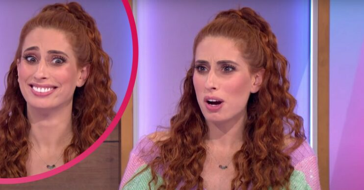 Stacey Solomon loose women she thought she'd 'pooed herself' first time she menstruated