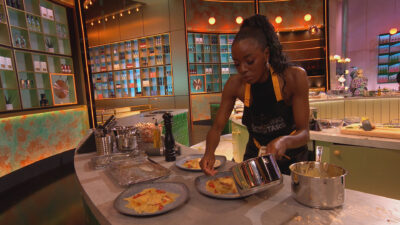 AJ on Cooking with the stars