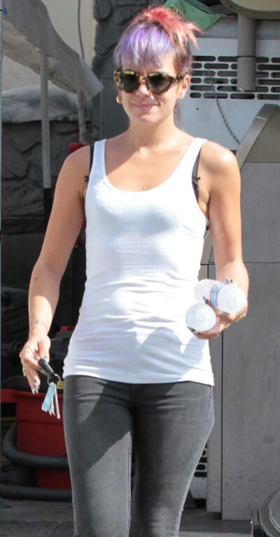 Lily Allen weight loss