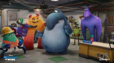 Monsters At Work - Disney Plus in August