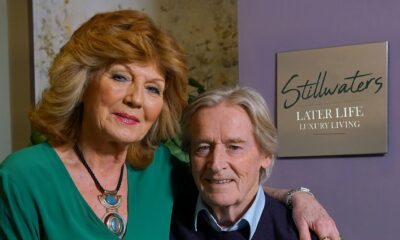 Claudia Colby in Coronation Street with Ken Barlow