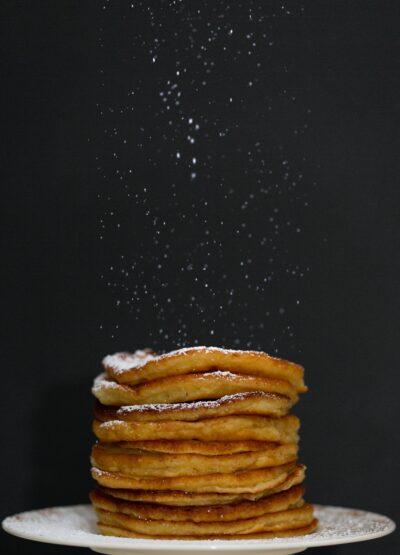 biscoff espresso martini: boozy Biscoff pancakes